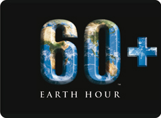 Logotyp - 60+ Earth Hour